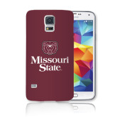 Galaxy S5 Phone Case-Bear Head Missouri State Stacked