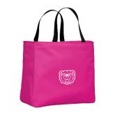 Tropical Pink Essential Tote-Bear Head