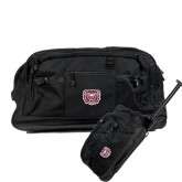 Urban Passage Wheeled Black Duffel-Bear Head