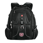 Wenger Swiss Army Mega Black Compu Backpack-Bear Head