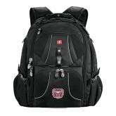 Wenger Swiss Army Mega Black Compu Backpack-Bear Head