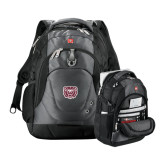 Wenger Swiss Army Tech Charcoal Compu Backpack-Bear Head