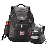 High Sierra Big Wig Black Compu Backpack-Bear Head