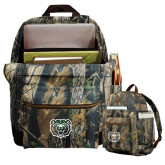 Heritage Supply Camo Computer Backpack-Bear Head