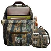 Heritage Supply Camo Computer Backpack-Bear Head