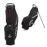 Callaway Hyper Lite 3 Black Stand Bag-Bear Head Missouri State Stacked