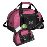 Ogio Pink Half Dome Bag-Bear Head