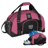 Ogio Pink Big Dome Bag-Bear Head