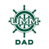 Dad Decal-UMM Ships Wheel