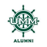 Alumni Decal-UMM Ships Wheel