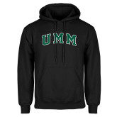 Black Fleece Hoodie-Arched UMM