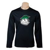 Syntrel Performance Black Longsleeve Shirt-Clipper Head