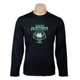 Syntrel Performance Black Longsleeve Shirt-Design on Ball