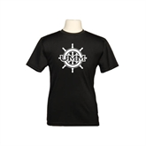 Youth Syntrel Performance Black Training Tee-UMM Ships Wheel