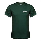 Dark Green T Shirt-Maine Machias Clippers