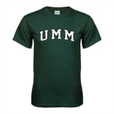 Dark Green T Shirt-Arched UMM