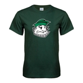 Dark Green T Shirt-Clipper Head