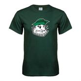 Dark Green T Shirt-Clipper Head