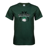 Dark Green T Shirt-Design in Ball