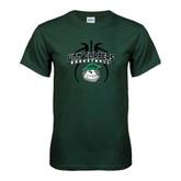 Dark Green T Shirt-Design in Ball