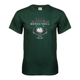 Dark Green T Shirt-Design on Ball