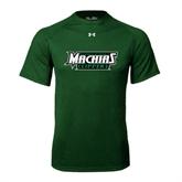 Under Armour Dark Green Tech Tee-Maine Machias Clippers