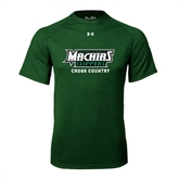 Under Armour Dark Green Tech Tee-Cross Country