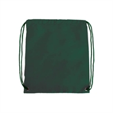 Dark Green Drawstring Backpack-Official Logo