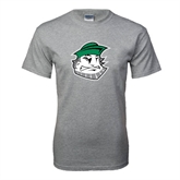 Grey T Shirt-Clipper Head
