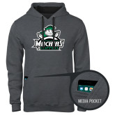 Contemporary Sofspun Charcoal Heather Hoodie-Official Logo