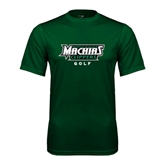 Performance Dark Green Tee-Golf