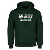 Dark Green Fleece Hood-Cross Country