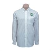 Red House White Long Sleeve Shirt-UMM Ships Wheel