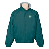 Dark Green Survivor Jacket-UMM Ships Wheel