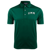 Dark Green Dry Mesh Polo-Arched UMM