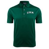 Dark Green Dry Mesh Polo-Arched UMM