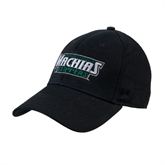 Black Heavyweight Twill Pro Style Hat-Maine Machias Clippers