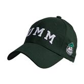 Dark Green Heavyweight Twill Pro Style Hat-Arched UMM