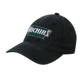 Black OttoFlex Unstructured Low Profile Hat-Maine Machias Clippers