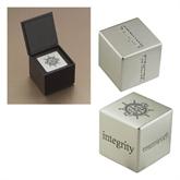 Icon Inspiration Cube-UMM Ships Wheel Engraved