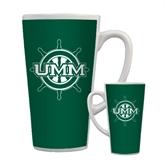Full Color Latte Mug 17oz-UMM Ships Wheel