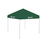9 ft x 9 ft Dark Green Tent-Maine Machias Clippers