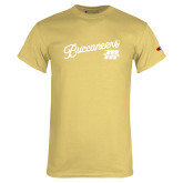 Champion Vegas Gold T Shirt-Fancy Script