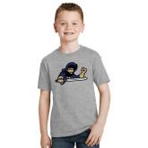 Youth Grey T Shirt-Mascot