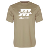 Performance Vegas Gold Tee-Alumni