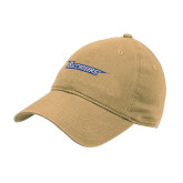 Vegas Gold Twill Unstructured Low Profile Hat-Wordmark