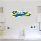1.5 ft x 4 ft Fan WallSkinz-Mariners Script