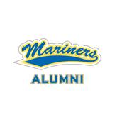 Alumni Decal-Mariners Script