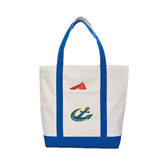 Contender White/Royal Canvas Tote-Anchor