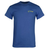 Royal T Shirt-Mariners Script